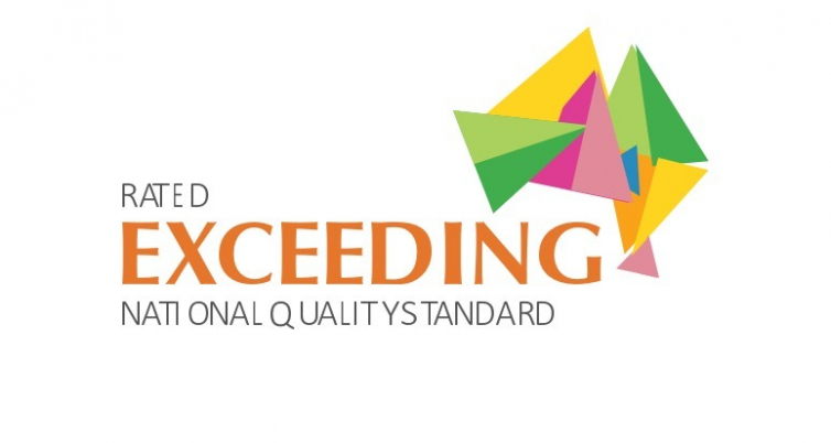 Both Starbright's rated 'EXCEEDING' National Quality Standard!